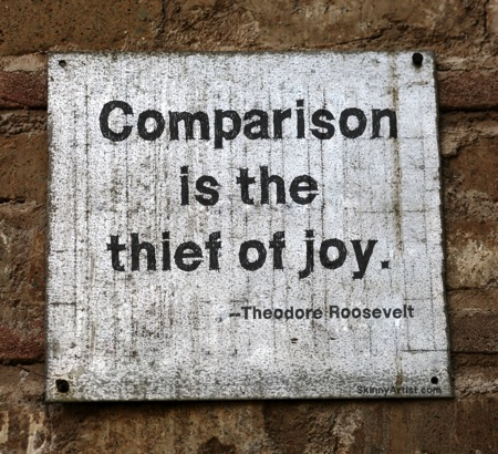 Comparison Is the Thief of Joy SPins