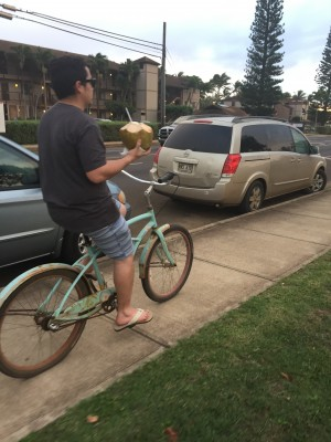 10 biking home coconut day 1