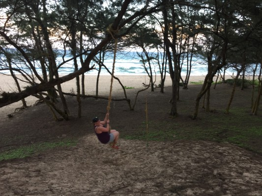 27 christmas eve rope swing